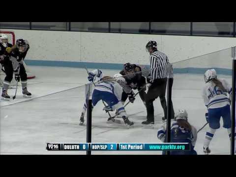 Duluth vs Hopkins/Park Girls Hockey 12/2/16