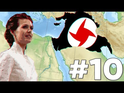[10] Hearts of Iron IV - Red World - SAR - Attack on Iraq!