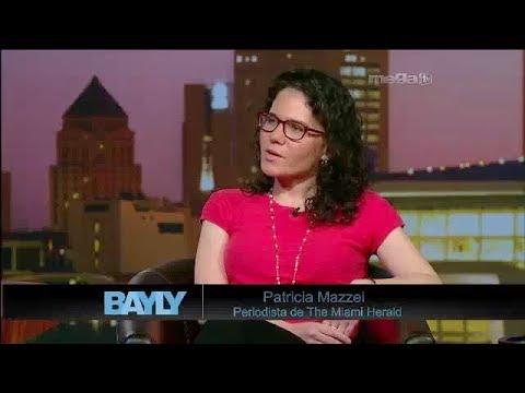Jaime Bayly entrevista a la periodista Patricia Mazzei.