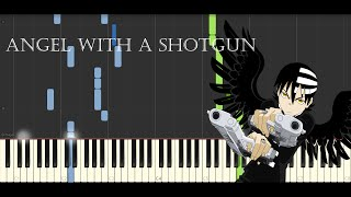Repeat youtube video Piano Tutorial - Angel with a shotgun | Synthesia