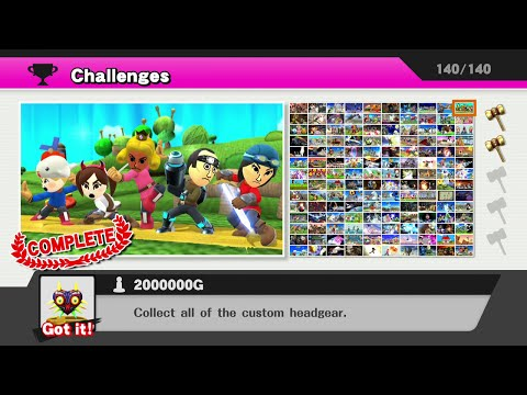 Super Smash Bros. Wii U: All Challenges...