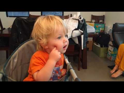 Thumbnail: Two year old has an argument with Amazon Alexa