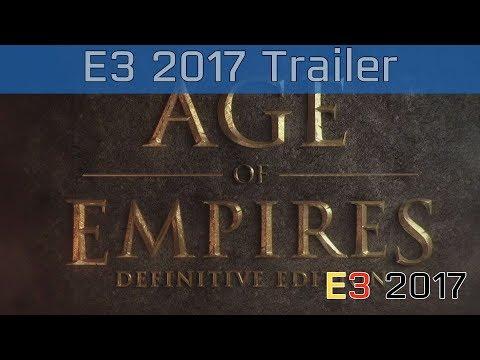 Age of Empires: Definitive Edition - E3 2017 Reveal Trailer [HD]