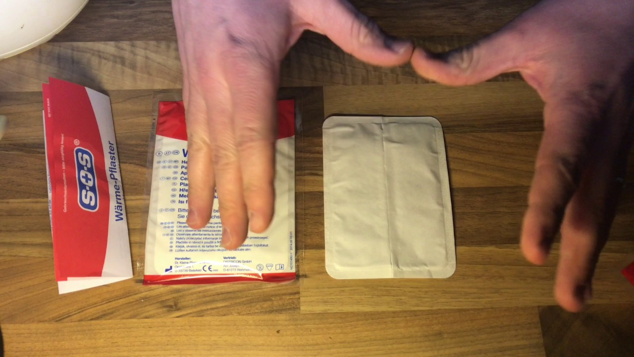 Heat Patch Unboxing And Instructions Pain Relieving Patch Diy Youtube