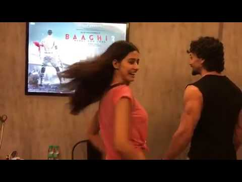 Disha Patani And Tiger Shroff Sharing First Look Of  ( Baaghi 2 ) || Watch Up Teaser