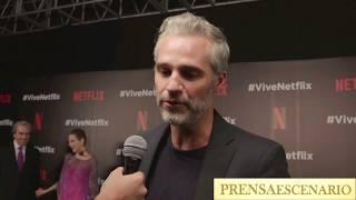 JUAN PABLO MEDINA - LA CASA DE LAS FLORES - ENTREVISTA - VIVE NETFLIX