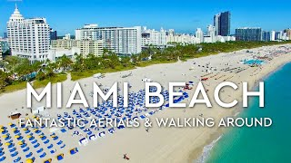 MIAMI BEACH, Florida  - Aerials 4K Drone (UHD 2160p)(Miami Beach, #Florida, #South Beach, #Drone, #4K South Beach, Ocean Drive, Collins Avenue, South Pointe Park, Lummus Park, Loews, Edgewater, Colony, ..., 2016-02-25T13:11:24.000Z)