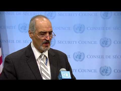 Syrian Ambassador to the UN Bashar al-Ja'afari 09/16/2014