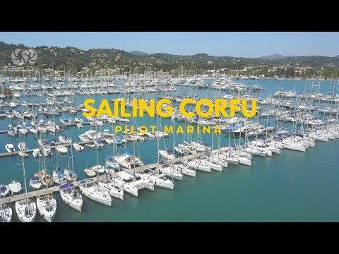 Sail Greece Marina Gouvia Corfu Greece- Know your way In & Out | Sea TV