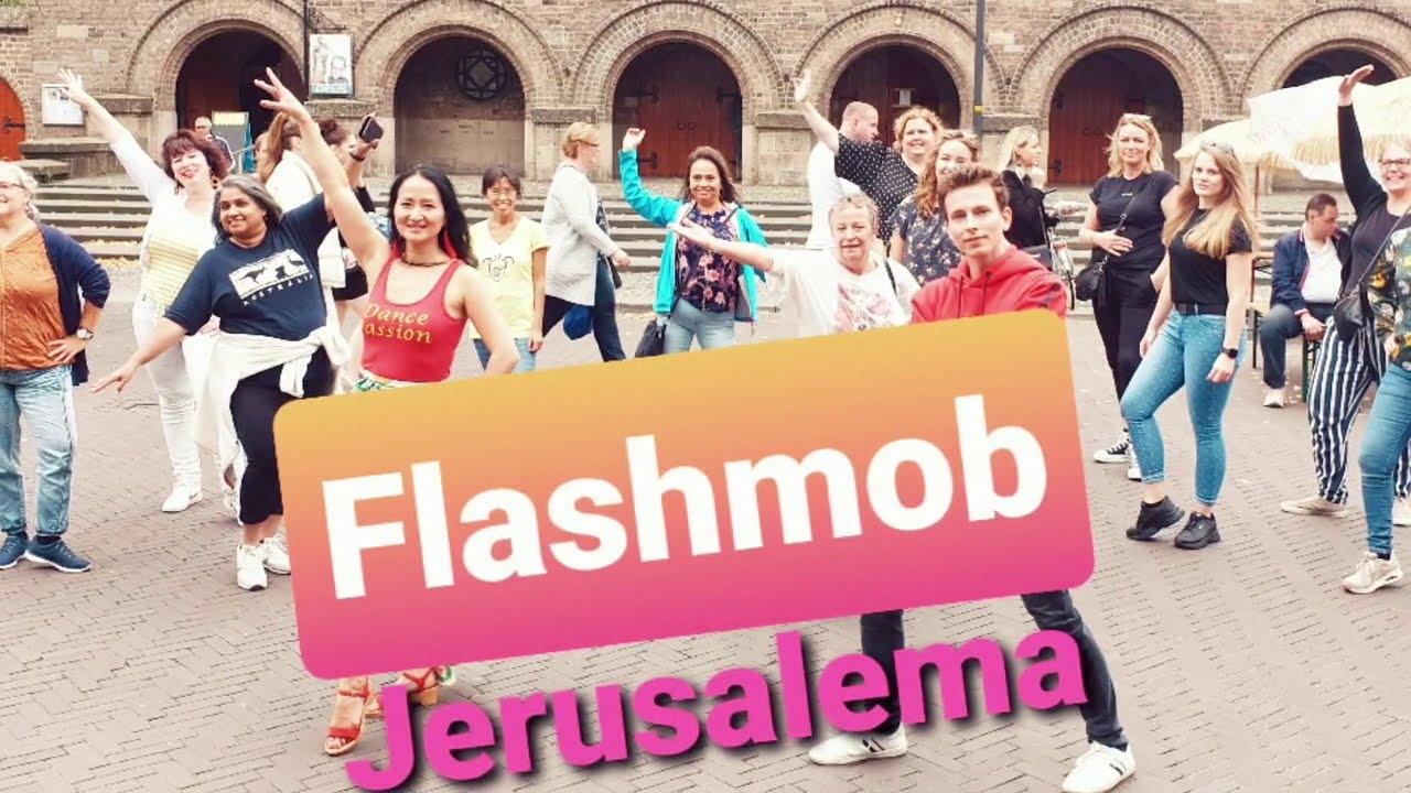 Flashmob JERUSALEMA - Master KG - Dance Passion Zumba Enschede - Dance Video