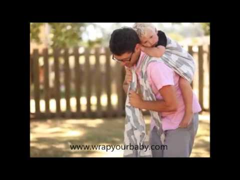Tibetan Rucksack Carry By A Dad From Wrap Your Baby Youtube