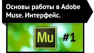 Основы работы в Adobe Muse. Интерфейс Adobe Muse. Урок 2