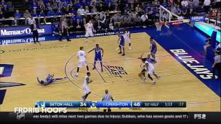 Justin Patton Highlights 2016.12.28 vs Seton Hall - 17 points