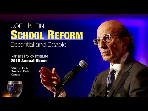 Joel Klein on School Reform: Essential and Doable