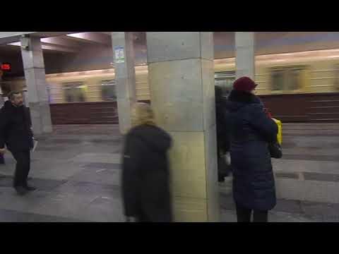 "Moscow Metro Line 1: Metrowagonmash 81-717.5M/714.5M ""Nomernoy"" train"