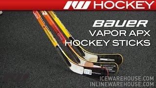 bauer vapor apx hockey stick review