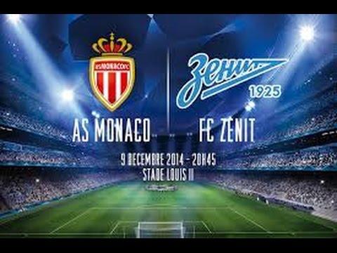 Монако - ФК Зенит 0:2