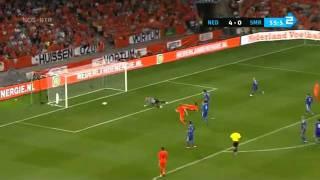 Nederlands elftal - San Marino 11-0 - Alle Doelpunten EK kwalificatie wedstrijd