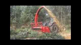 Biomass Harvesting with the H600 on a Valtra S353