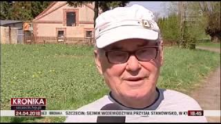 Głazów [Zachodniopomorskie] - Śmiertelne promieniowanie na zlecenie Sołtysa!!! SZOK!!!
