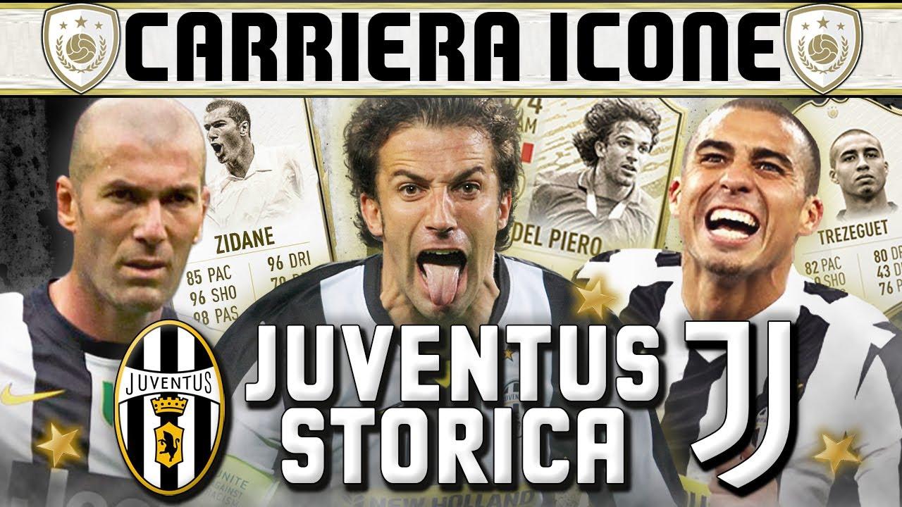 JUVENTUS LEGGENDARIA! | Carriera Allenatore ICONS [FIFA 20 ...