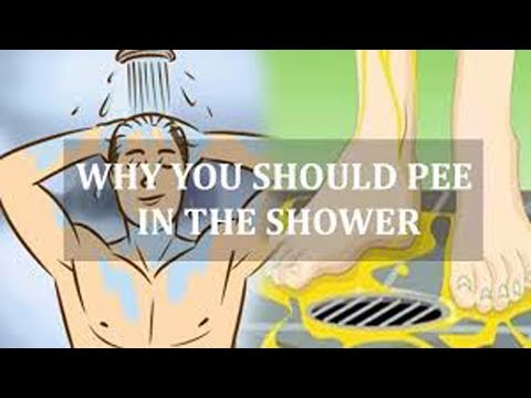3 Reasons Why You Should Pee in The Shower – Health 24/7