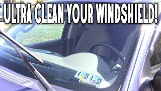 RUBBING ALCOHOL TO CLEAN YOUR WINDSHIELD, WINDOWS, MIRRORS, AND CAR! CLEANING WITH RUBBING ALCOHOL!