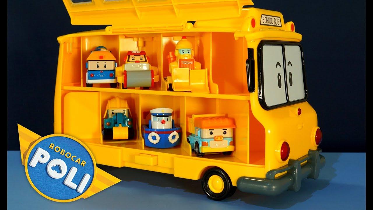 Игрушки робокар поли и его друзья