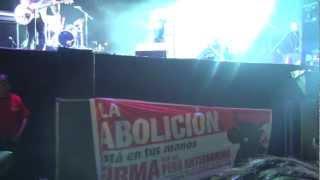 Cafe Tacvba en Lima - HD - NO CONTROLES - CON PERU ANTITAURINO - Festival de los 7 mares 2013