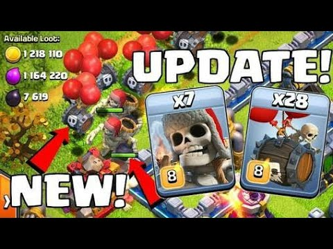 Clash of Clans New Update Halloween is Week