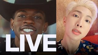 Lil Nas X 'Seoul Town Road' Remix Featuring RM From BTS | ET Canada LIVE