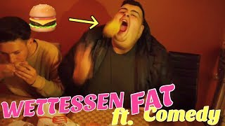 BURGER WETTESSEN vs FAT COMEDY !! 🍔🍟