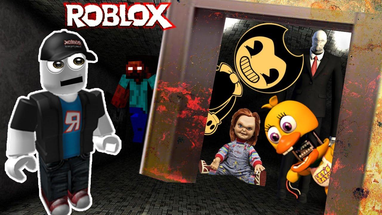 Roblox побег от слендера