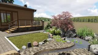 Проект дома и ландшафтный дизайн участка в СТАРКО(, 2016-06-03T12:53:40.000Z)