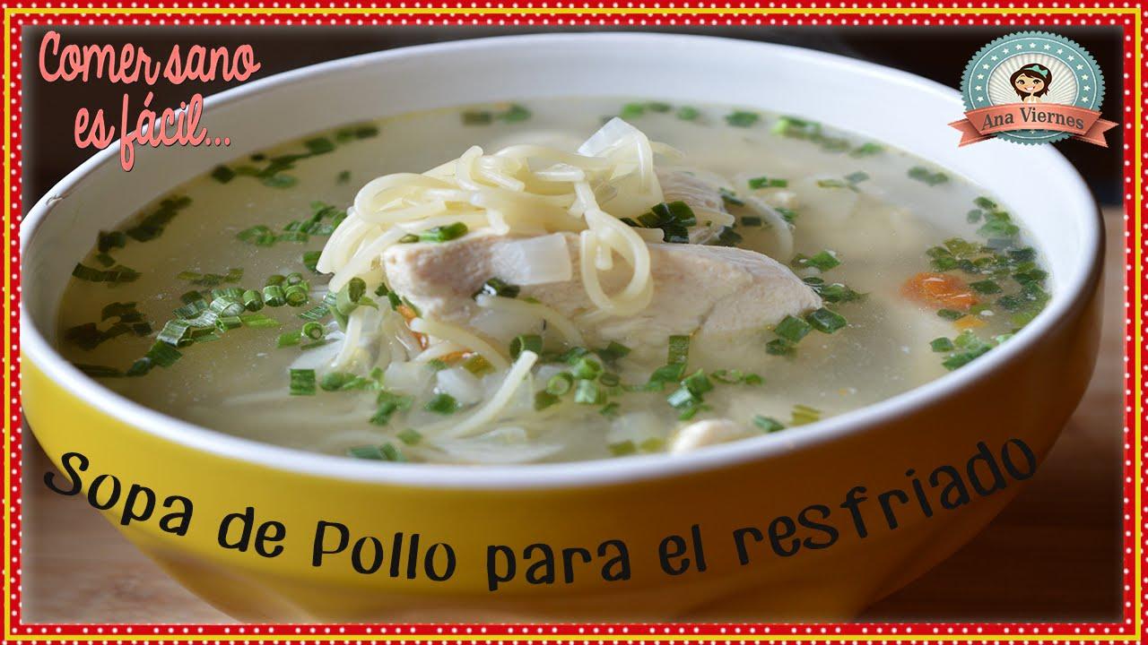 sopa de pollo con fideos para adelgazar