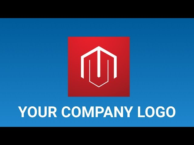 Personalize Magento 2 Admin Login page with a company Brand Logo