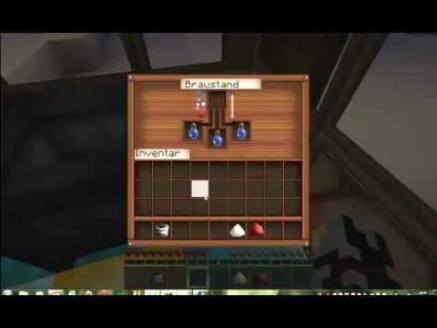 Minecraft - Trank der Geschwindigkeit brauen - YouTube