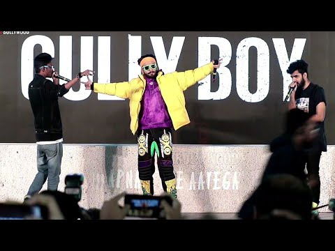 Ranveer Singh ANGAAR 💥💥💥 Performance LIVE | #GullyBoy Official Trailer Lauch