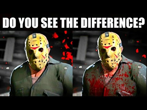 Bloody Jason Skins and Retail EXCLUSIVE Clothing Pack Opinion   Friday the 13th The Game