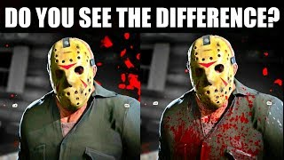 Bloody Jason Skins and Retail EXCLUSIVE Clothing Pack Opinion (Friday the 13th The Game)