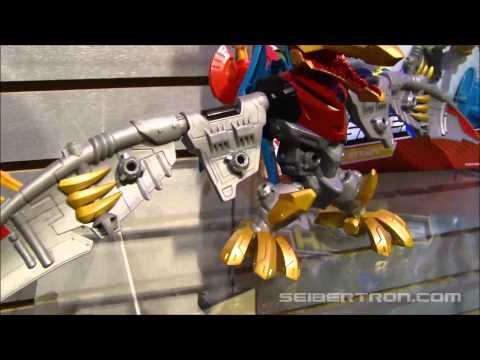 Toy Fair 2014\/Hasbro Media Day Transformers Hero Mashers Display