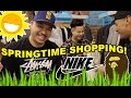 SPRINGTIME SHOPPING! WHAT TO COP!