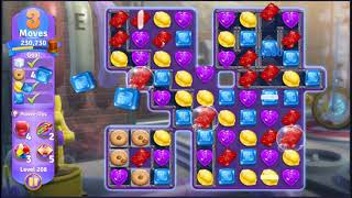 Wonka's World of Candy Level 208 - NO BOOSTERS + FULL STORY ???? | SKILLGAMING ✔️