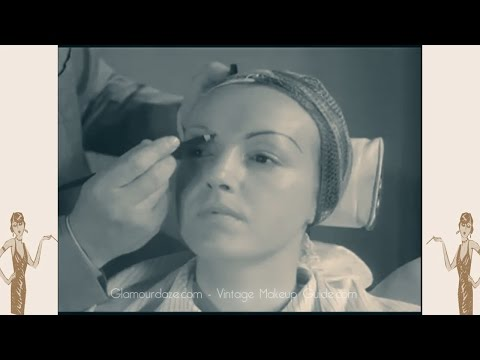Max Factor MakeUp Masterclass - 1935 Film