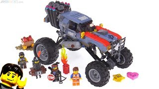LEGO Movie 2 Emmet & Lucy's Escape Buggy review! 70829