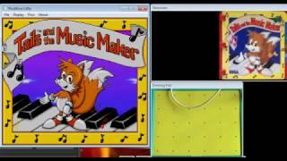 Tails And The Music Maker - Sega Pico - emulador PicoDrive 1.45a - testeado Windows 7 x64