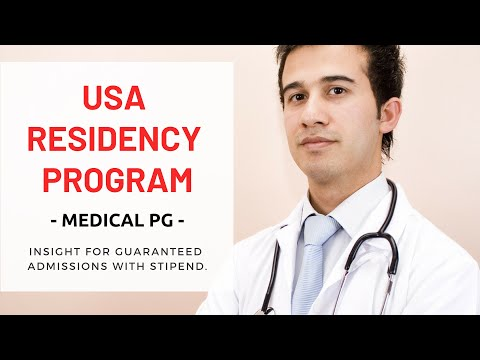 USA Residency Program Insight for Guaranteed Admissions with Stipend | USMLE Training | MD in USA