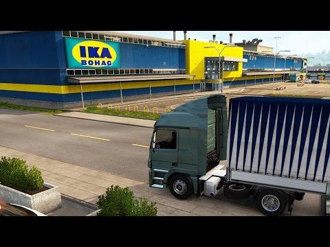 Euro Truck Simulator 2 Scandinavia - Denmark