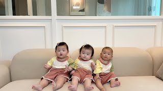 공동육아 하면 생기는 일 | 육아VLOG,아기목욕,기저…