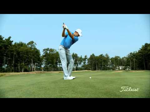 Jordan Spieth golf swing in slow motion 4K